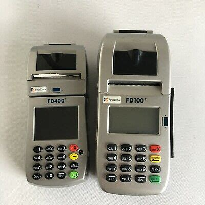 Prior to the card schemes (visa and mastercard) imposing rules relating to dcc, cardholder transactions were converted without the need to disclose that the transaction was being converted into a customer's home currency, in a process. Lot of 2 First Data Credit Card Machines Readers Processors FD100 FD400 Terminal   eBay