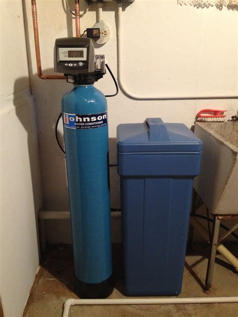 water softener johnson water conditioning treatment and softening systems Home