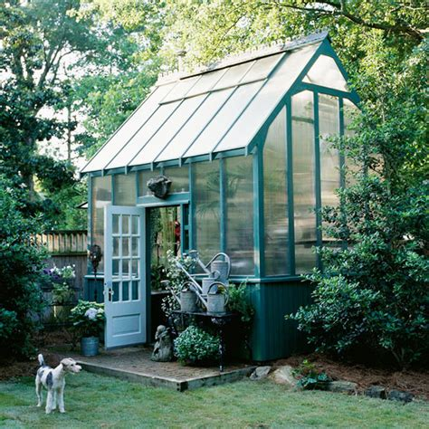 {garden House} Dreaming Of A Greenhouse For The Backyard