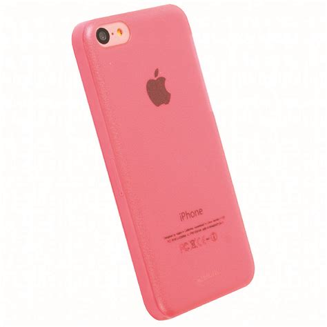 pink iphone 5c krusell 89910 frostcover for apple iphone 5c