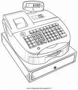 Cassa Registratore Disegno Register Cash Misti Patents Colorare Drawing Patent Disegni Condividi sketch template