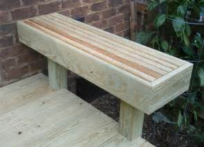 Deck Benches Plans
