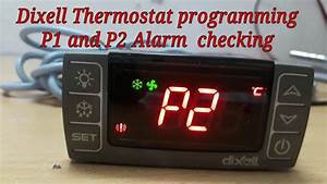 Programming And Alarm Fixing Dixell Temperature Controller