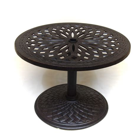 patio umbrella side table hanamint mayfair 30 quot umbrella side table outdoor