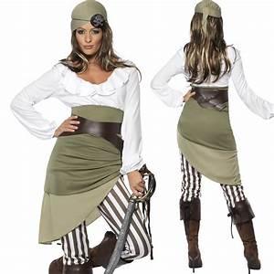 Damen Kostüm Piratin : 6 teile piratenkost m damen karibik kost m piratin seer uber top leggins g rtel ebay ~ Frokenaadalensverden.com Haus und Dekorationen