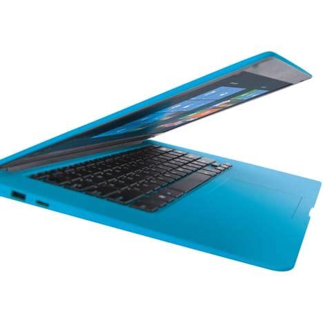 pc bureau auchan ordinateur portable cw14q7b bleu qilive pas cher à prix