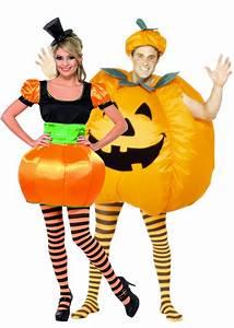 Halloween Kostüm Kürbis : halloween k rbis kost m f r paare paarkost me und g nstige faschingskost me vegaoo ~ Frokenaadalensverden.com Haus und Dekorationen