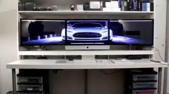 how i built my desk ikea desk hack youtube