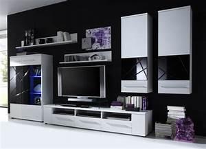 Meuble Tele Moderne : meuble tv design quelques exemples modernes ~ Teatrodelosmanantiales.com Idées de Décoration