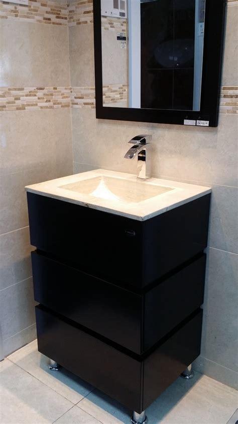 modernos muebles  bano de marmol chocolate mdf