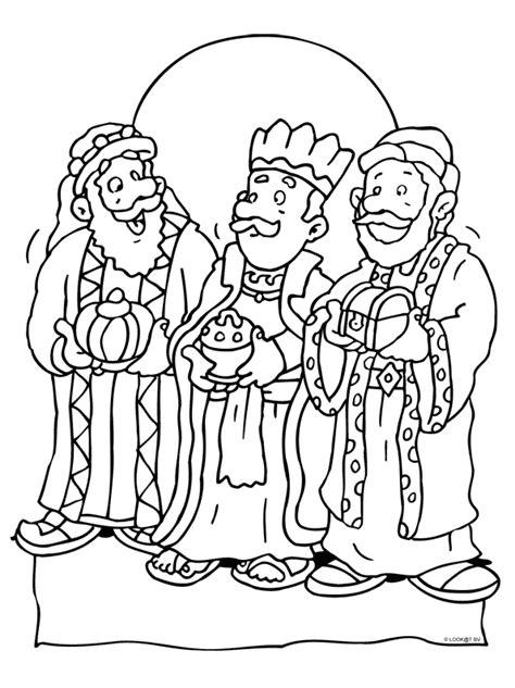 De Wijzen Uit Het Oosten Kleurplaat by Wijzen Uit Het Oosten Kerstboekje Kleurplaten