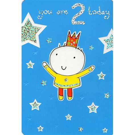 Birthday Card Image 2 by Birthday Boy 2nd Birthday Card Buy And Send A Birthday Card