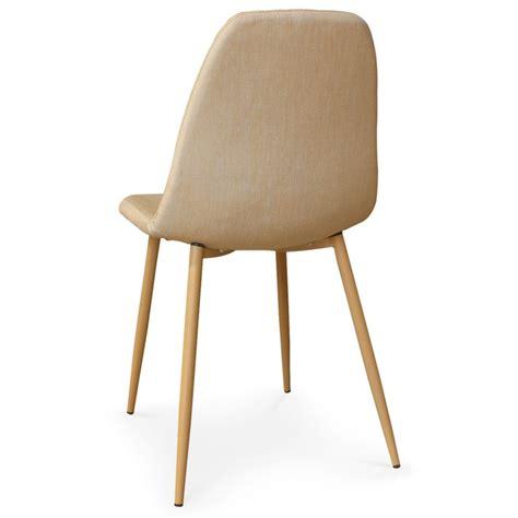 4 chaises pas cher chaise beige pas cher maison design wiblia com