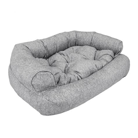 Snoozer Overstuffed Sofa Pet Bed by Snoozer Overstuffed Sofa Pet Bed Replacement Cover