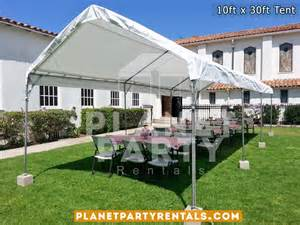 rent white chairs for wedding 10ft x 30ft tent rental