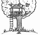 Coloring Tree Treehouse Pages Drawing Colouring Amazing Printable Drawings Magic Bestcoloringpagesforkids Beach Getcoloringpages sketch template