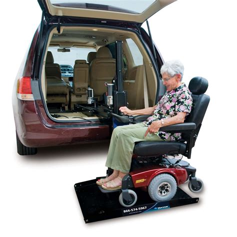 harmar hybrid scooter lifts and wheelchair lifts