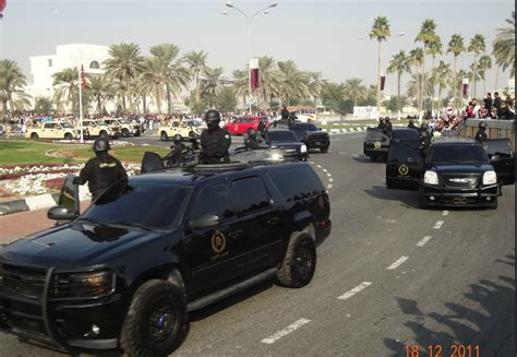 A Colour-coded Guide To Police Vehicles In Qatar