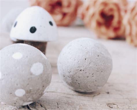 diy pilze aus beton kreative und einfache bastelidee mit beton