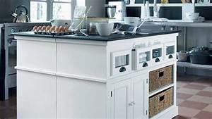 Maison Du Monde Cuisine Copenhague : ilot de cuisine 9 conseils pour rendre un lot de cuisine design et fonctionnel ~ Teatrodelosmanantiales.com Idées de Décoration