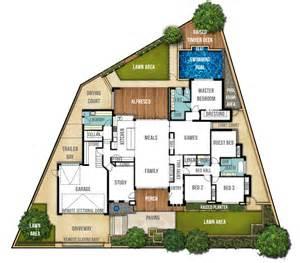 house plans design single storey split level house plan quot the carine quot boyd design perth