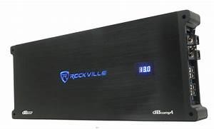 Rockville Dbcomp4 Competition Mono Car Audio Amplifier