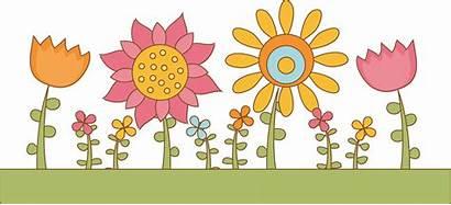 Clipart Garden Clip Flower Borders Bed Advertisement