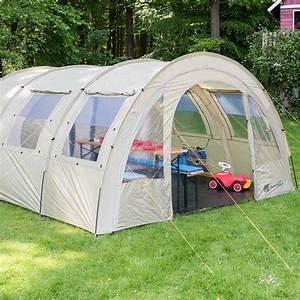 Skandika Kemi 4 PersonMan Family Tunnel Tent Camp 3000mm