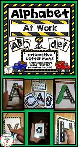alphabet tracing posters road and transportation themed With letter tracing toy