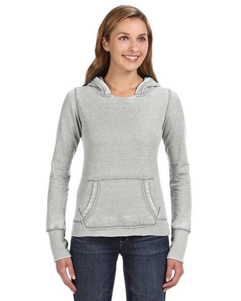 america ja ladies zen pullover fleece hood