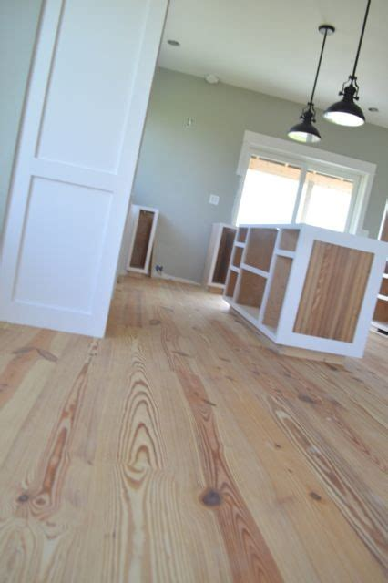 finish yellow pine floors  poly