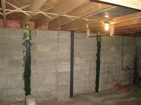 basement questions foundation repairs cracked  bowed