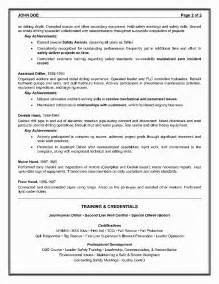 Director Level Resume Objective by Resume Cover Letter Exle For A Resume Cover Letter Sle Health Educator Resume