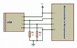Micro Usb Connection Circuit Diagram