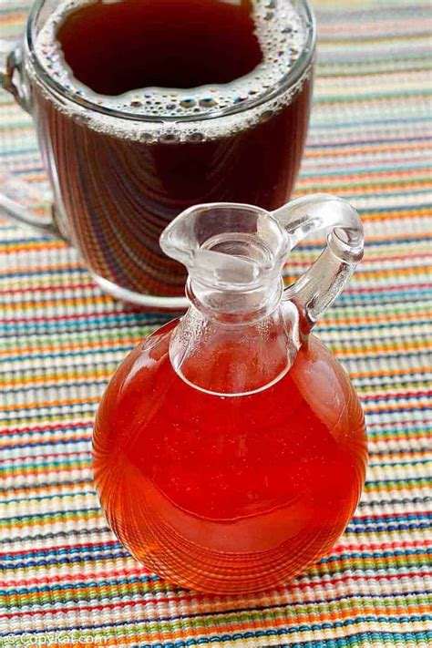 She goes into detail about how to make your own homemade coffee syrups with 1 cup water and 1 cup white sugar. Make Your Own Caramel Syrup for Coffee | CopyKat Recipes