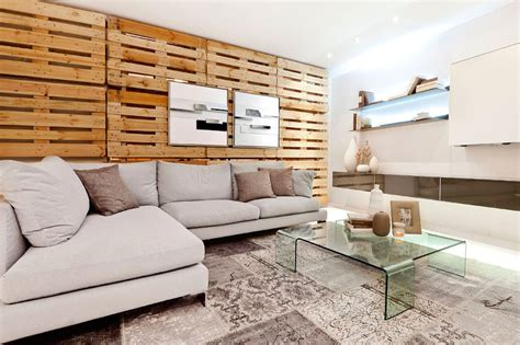 Wohnzimmer Aus Paletten by Wandgestaltung Ideen Mit Paletten Freshouse