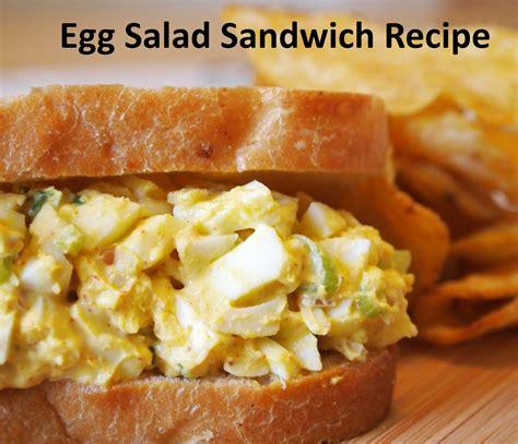 how to make egg salad sandwich easy egg salad sandwich recipe dishmaps