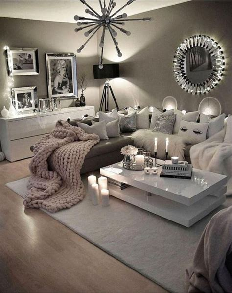 Decor Ideas In Grey by 82 Beautiful Grey Living Room Ideas Decorations 28 In 2019