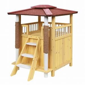 Maison Pour Chat Extérieur : maison ext rieure pour chat toskana maisonnettes pour ~ Premium-room.com Idées de Décoration