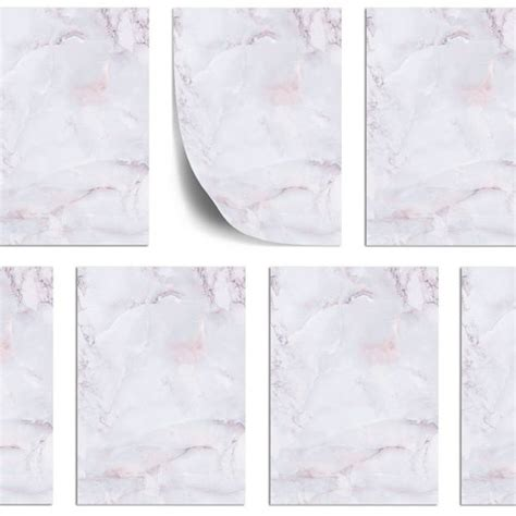 shop stationery  marble lilac  sheets din