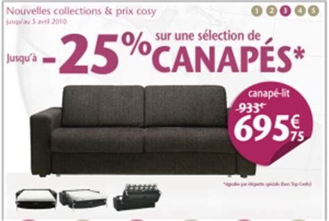 conforama promo canap promotion canapé conforama 25 shop