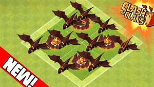 Clash of Clans - LEVEL 5 DRAGONS, 2 AIR SWEEPERS, BARRACKS ...