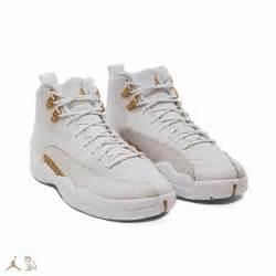 Ovo White Gold Air Jordan 12