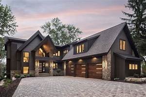 Rustic, Contemporary, Lake, House, With, Privileged, Views, Of, Lake, Minnetonka