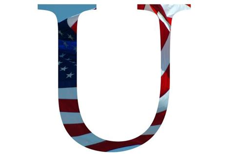 Letter U Pictures, Free Use Image, 2001-21-3 By Freefoto.com