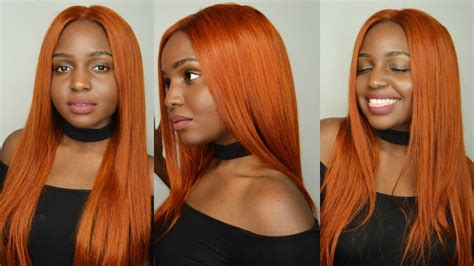 The Perfect Copper Red/ Ginger / Orange For Dark Skin Ft