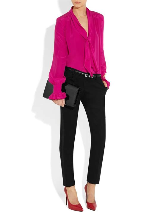 fuschia blouse 17 best ideas about pink blouses on