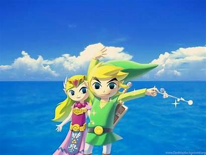 Zelda Waker Wind Wallpapers Legend Desktop Background