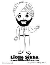 sikhs coloring fun panosundaki pin
