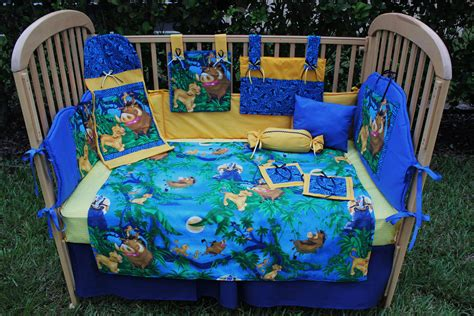 the lion king 12 piece baby bedding crib set by
